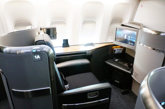 What Its Really Like To Fly Overseas In First Class