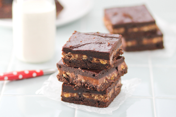 Gooey Layered Symphony Brownies | The Huffington Post