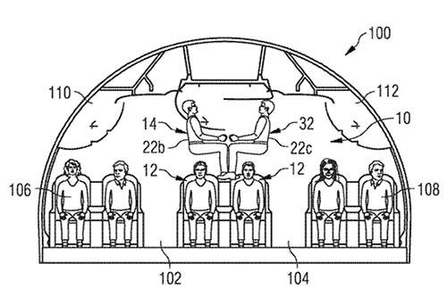 Airbus заявил о патенте самолета Плацкарт.