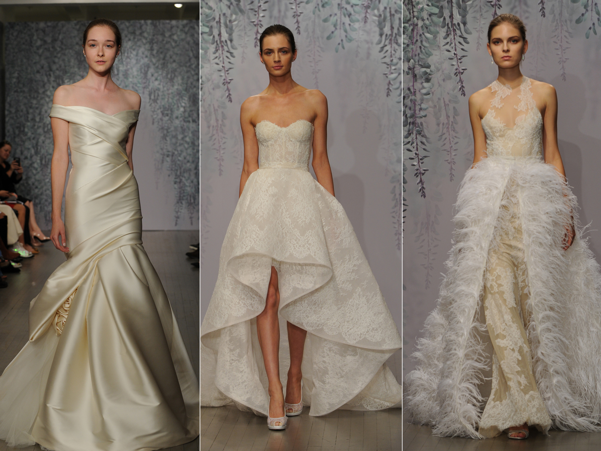 Monique Lhuillier S Fall 2016 Wedding Dress Collection Is Romance