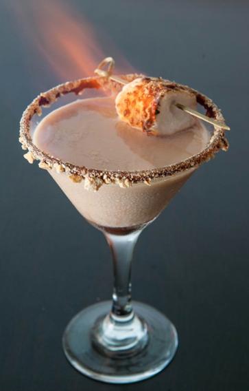 Flaming-Smores-Martini