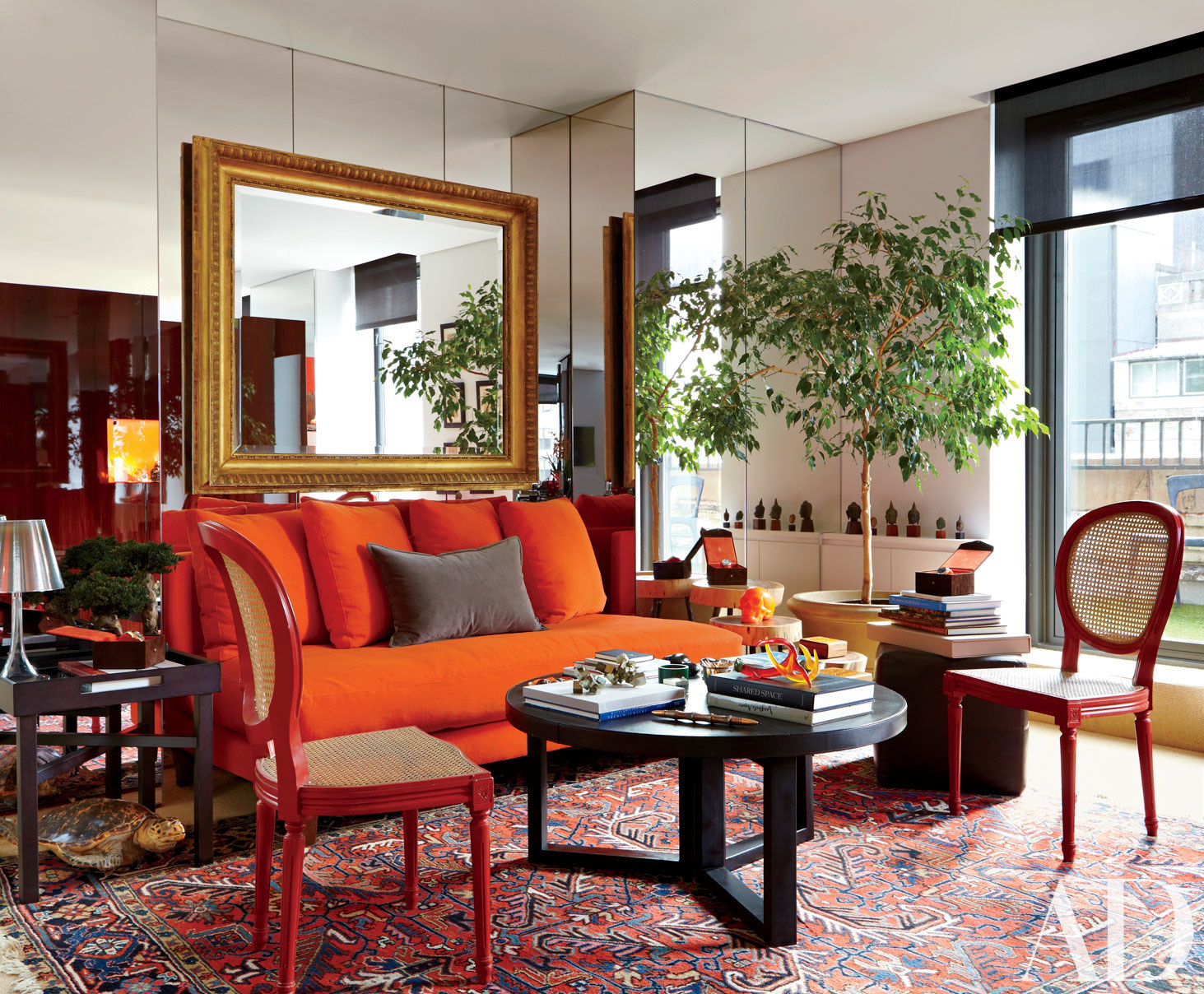living rooms decorated with fall colors | huffpost
