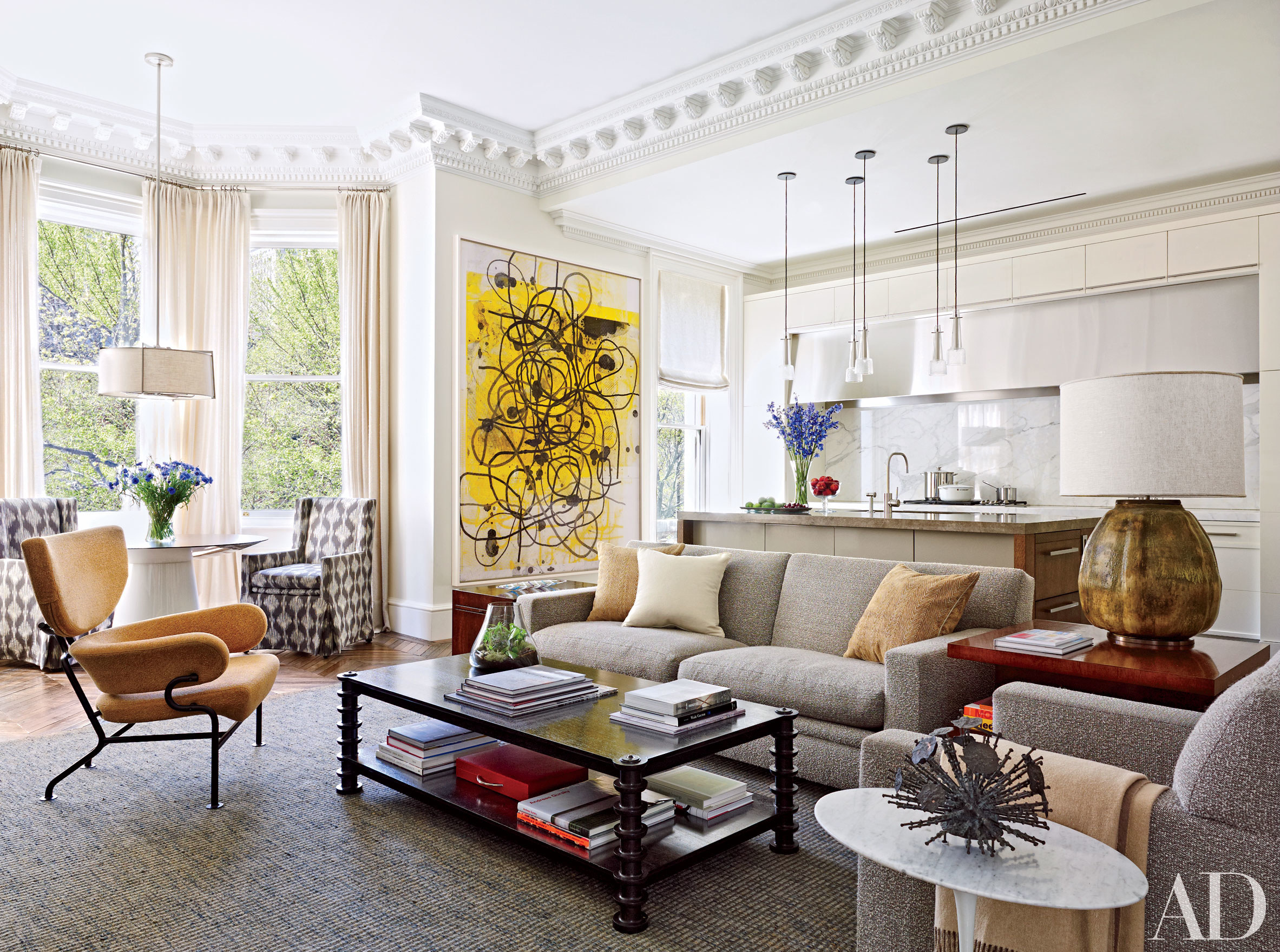 Living Rooms Decorated With Fall Colors Huffpost Life