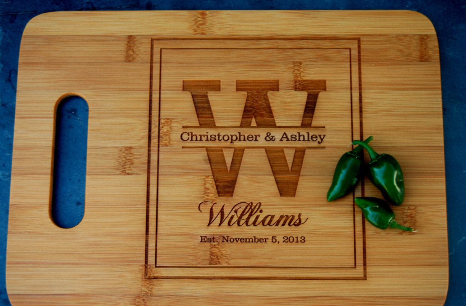 Unique Wedding Gifts To Give The Huffington Post, Kitchen Ideas · Uniquely Personalized  Cutting Board ...