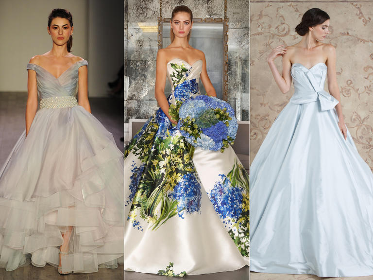 22 Colorful Wedding Dresses For The Bride Who Wants To Stand Out