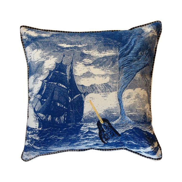 Nautical Coastal Throw Pillows : 5 Styles for a Modern Haunted House - What Is Yours? HuffPost
