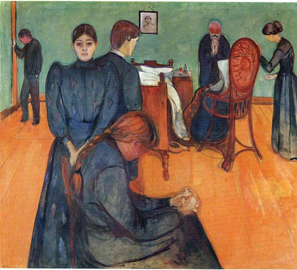 Conversations With Artists From the Past. Edvard Munch