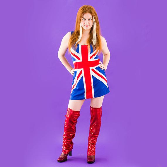 Redhead Costume 8
