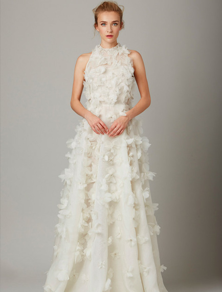13 New Bridal Gown Trends That Aren\'t Strapless | HuffPost