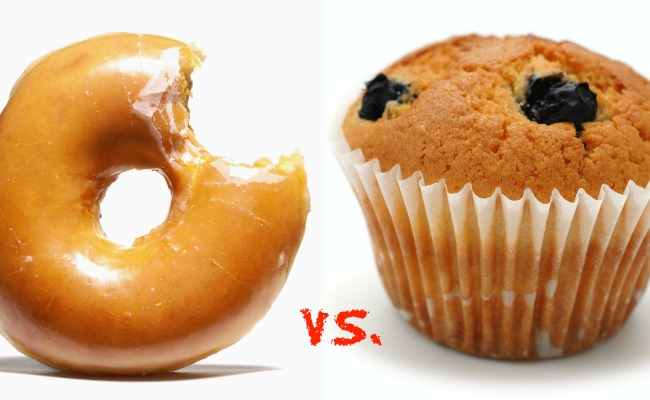 Doughnut vs. Muffin: Which Is the Lesser of Two Evils