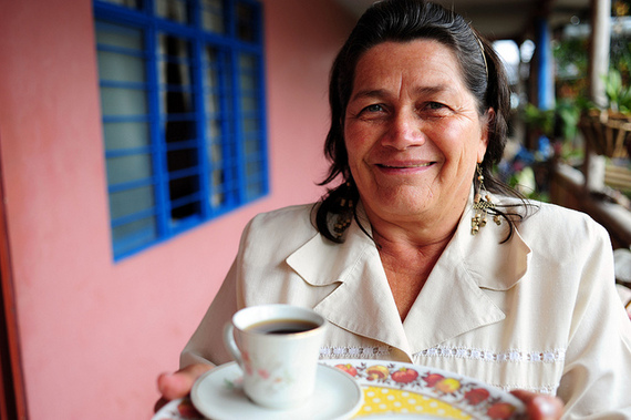 Kolumbianische frauen treffen