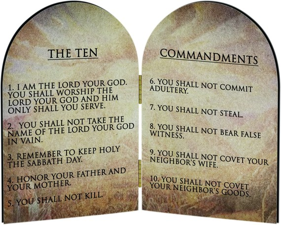 the most revolutionary part of the ten commandments huffpost