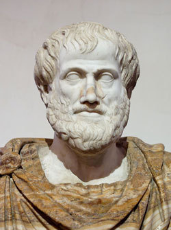 Bust of Aristotle, By Copy of Lysippus (Jastrow (2006)) [Public domain], via Wikimedia Commons-Aristotle_Altemps_Wikipedia_Public_Domain.jpg