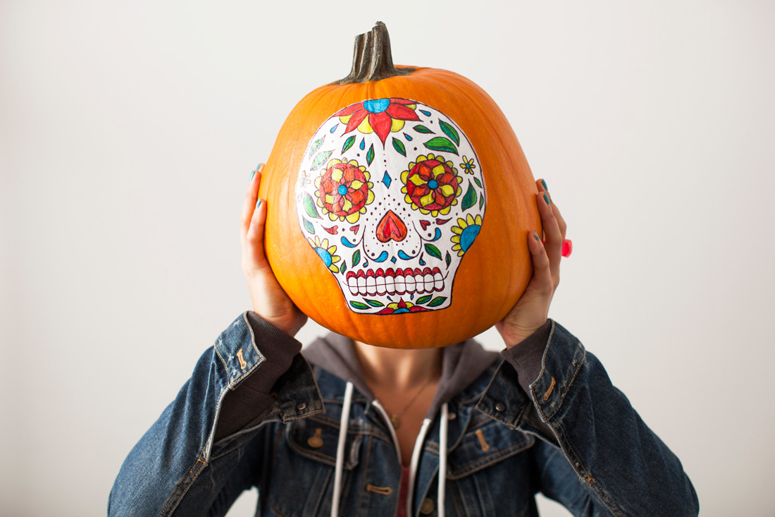 9 Easy DIY No-Carve Pumpkin Ideas | HuffPost