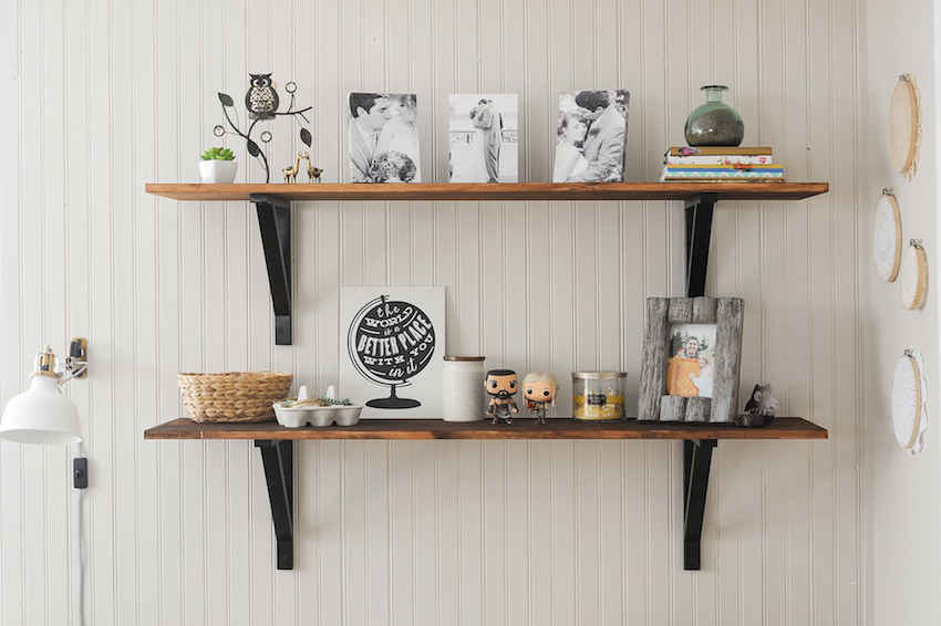 Quick, Easy DIY Shelves That'll Solve Your Storage Woes ...