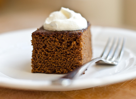 Gingerbread Cake With Orange Icing
