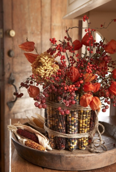 Harvest decorations for your wedding huffpost for Harvest decorations for the home