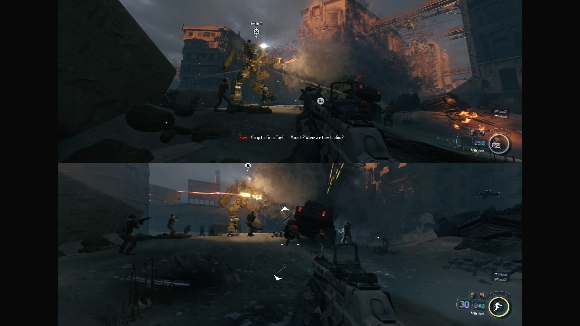 Split screen zombie games ps4 black ops 3