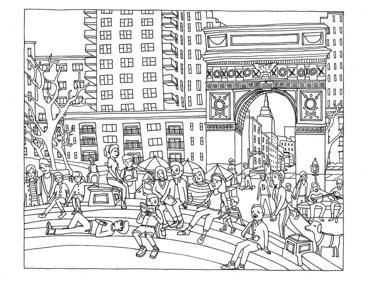 8 amazing coloring books for adults to challenge the for Fun activities for adults in nyc