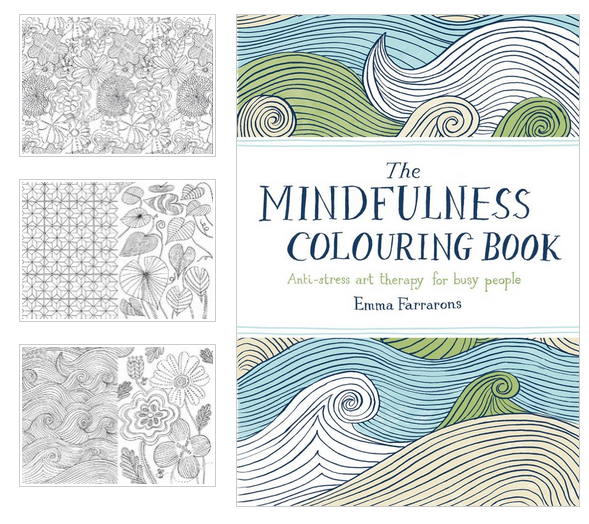 The coloring book of mindfulness coloring page for Garden 50 designs to help you de stress colouring for mindfulness