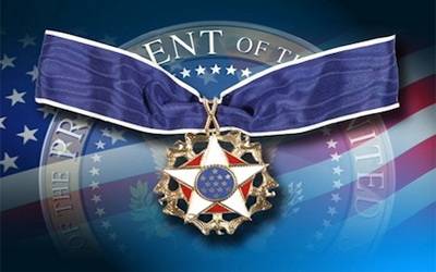Image result for Presidential Medal of Freedom picture