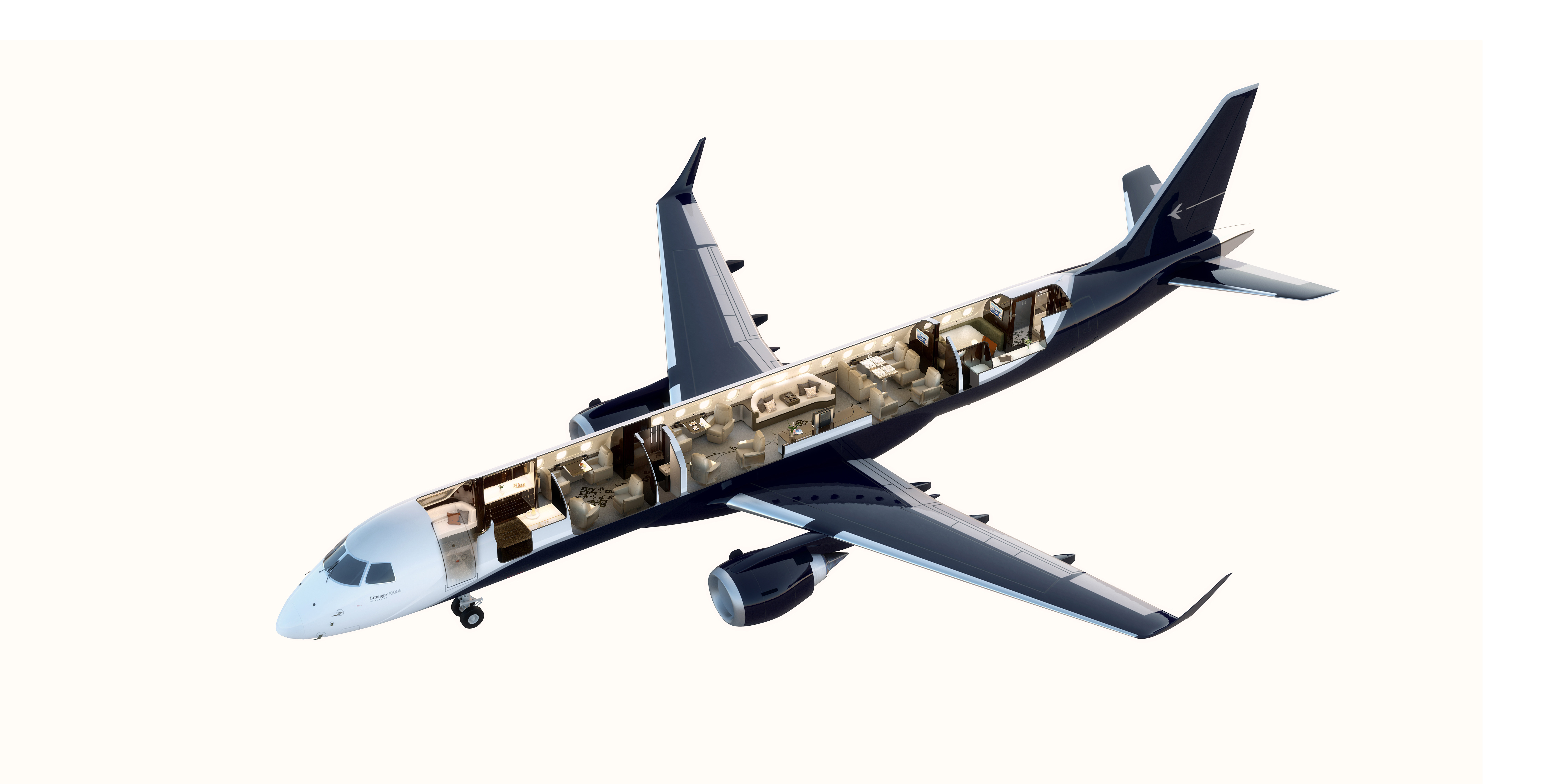 this is what the inside of a 53 million jet looks like huffpost