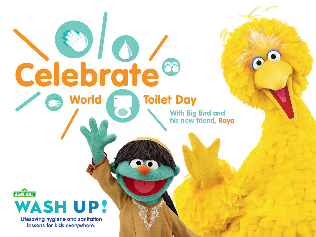 WASH UP! for Universal Children's Day   HuffPost