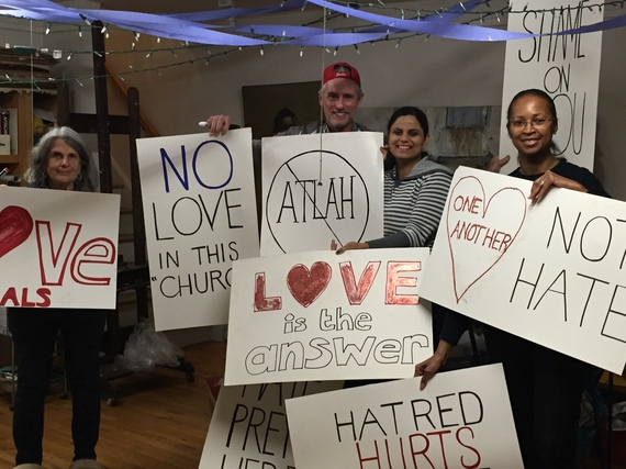 "Harlem Neighbors Call for ""Love Not Hate"" in Response to Hate Speech and Demagoguery"