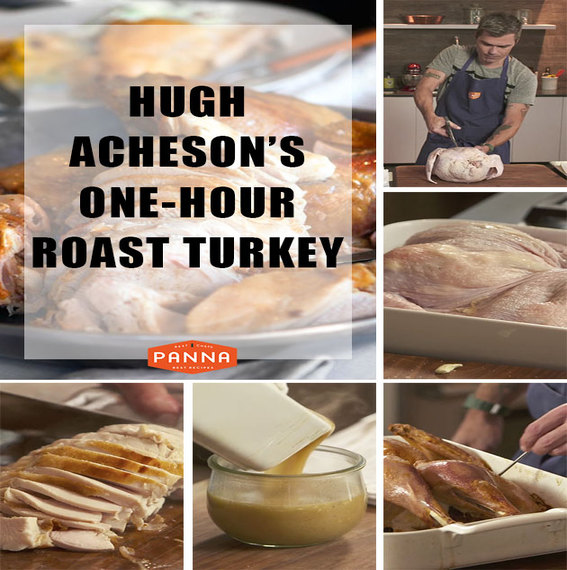 How to Spatchcock a Turkey - GIF tutorial by Hugh Acheson