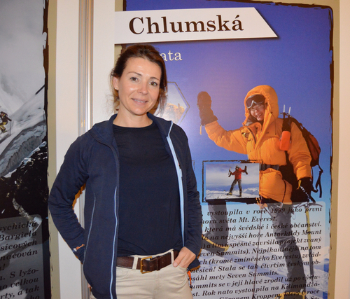 Interview With :   Renata Chlumska, Swedish and Czech mountaineer, adventurer and motivational speaker