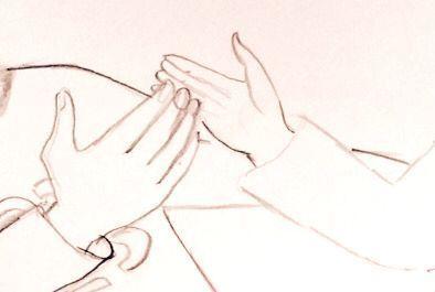 Gribok der Nägel die Behandlung von der Kernseife