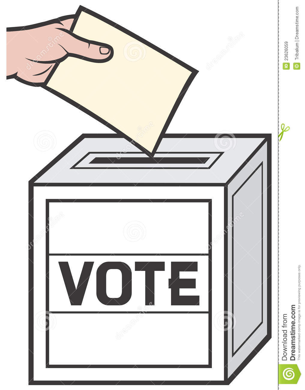 free clipart vote yes - photo #48