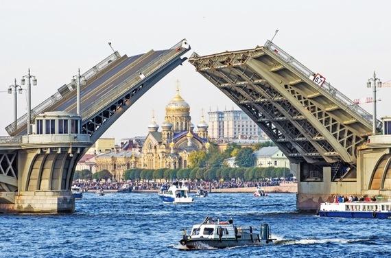 ヨーロッパで最高の旅先にも選ばれたサンクトペテルブルクが美しい
