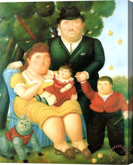 Spanish Artists Paintings Of Family
