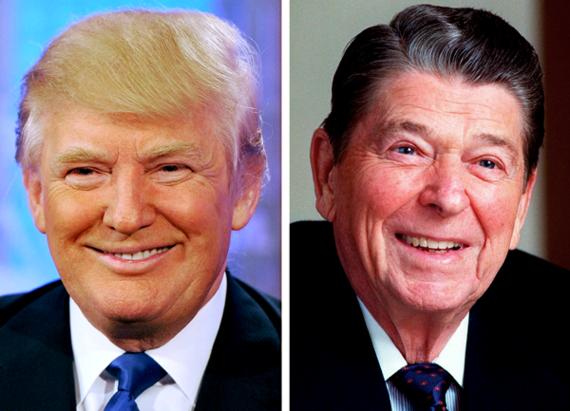 Donald Trump's claim he evolved into 'pro-life' views, like Ronald Reagan