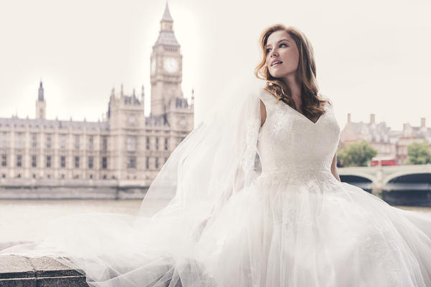 David S Bridal Features Size 14 Model In New Wedding Dress Ad Campaign
