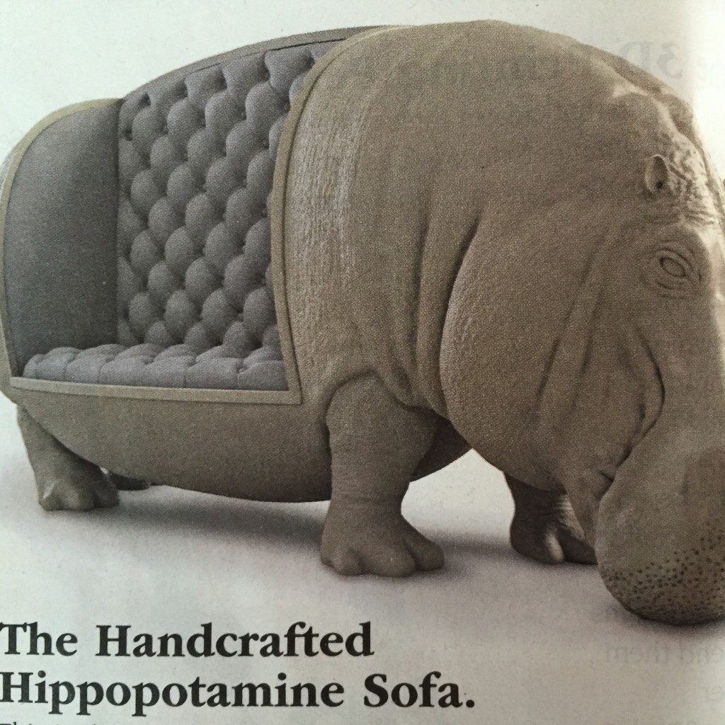 10 ridiculous gifts for people who have everything huffpost for Funny sofa pictures