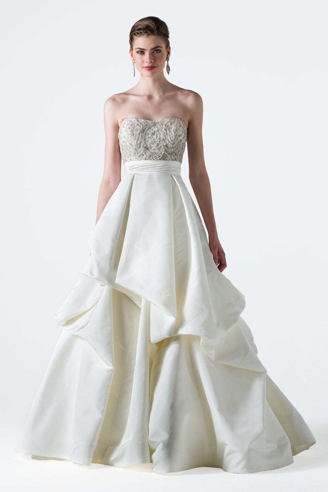 The 25 MostPinned Wedding Dresses Of 2015 HuffPost