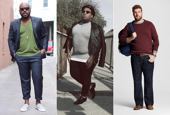 a6418af98158c Meet the Plus-Size Male Models Who Just Might Change the Fashion Industry