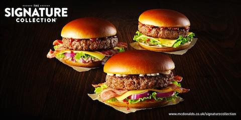 Homestyle burger