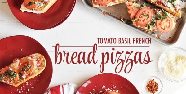 tomato basil french bread pizza