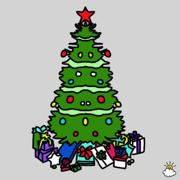 Perfectly Symmetrical 2015-12-22-1450816285-3959428-XMasTree6.jpg - What Does Your Christmas Tree Say About Your Personality? HuffPost