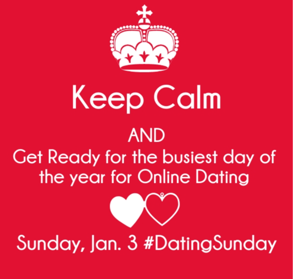 busiest online dating day Today will be the busiest of the year for online dating, with predictions of a surge in the number of people seeking a new partner.