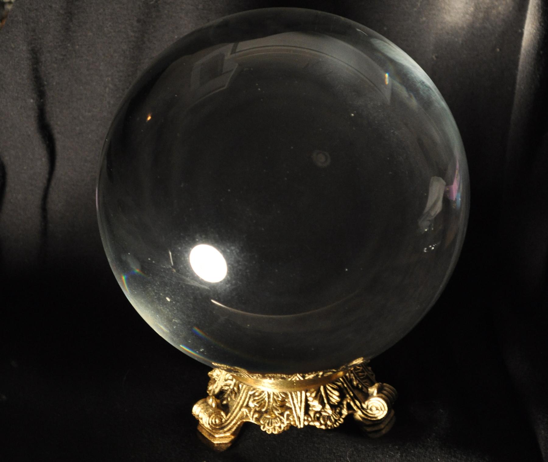 Una bola de cristal para el 2016 se cumplirn los deseos - Bola nieve cristal ...
