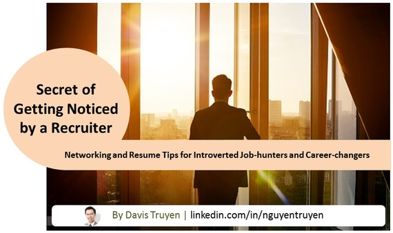 the secret of getting noticed by a recruiter 6 networking