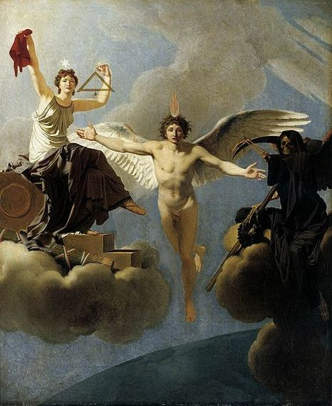 Regnault - The Genius of France between Liberty and Death