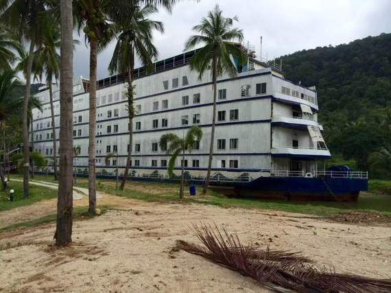 this abandoned cruise ship on koh chang will give you the