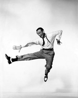 Fred Astaire in Daddy Longlegs, public domain