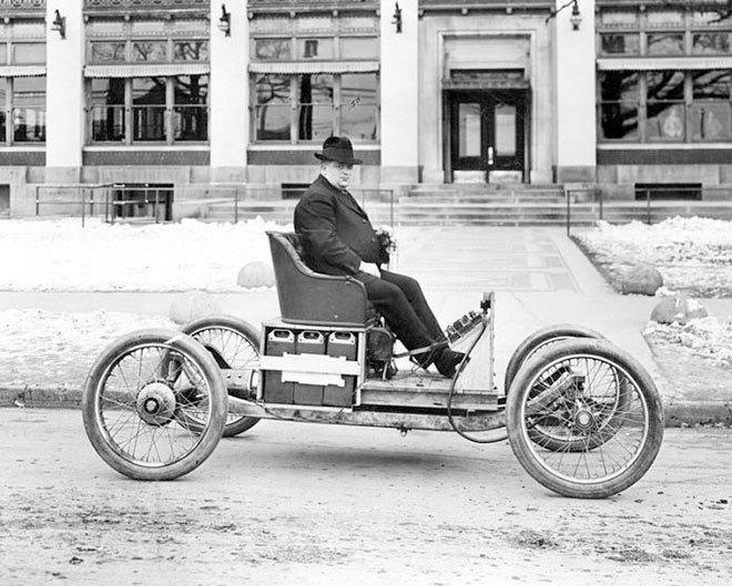 Pendrick Bullet Electric Car