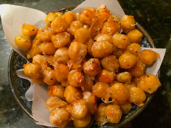 Roasted Chickpeas With Parmesan And Smoked Paprika Recipe ...